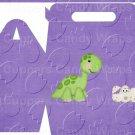 Dinosuar Purple #1 ~ MINI Gable Gift or Snack Box DOZEN