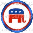 Republican Elephant #2 ~ Cupcake Toppers ~ Set of 1 Dozen