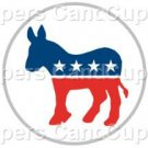 Democrat Donkey #1 ~ Cupcake Toppers ~ Set of 1 Dozen