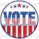 Vote #1 ~ Cupcake Toppers ~ Set of 1 Dozen