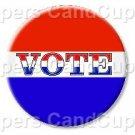 Vote #2 ~ Cupcake Toppers ~ Set of 1 Dozen