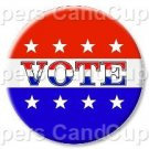 Vote #3 ~ Cupcake Toppers ~ Set of 1 Dozen
