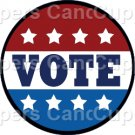 Vote #5 ~ Cupcake Toppers ~ Set of 1 Dozen