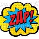 Zap ~ Super Heros ~ Cupcake Toppers ~ Set of 1 Dozen