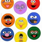 Variety of All  Sesame Street Inspired ~ Cupcake Toppers ~ Set of 1 Dozen