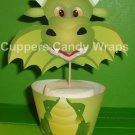 Castle Theme Party - Dragon, Knight, Princess ~  Cupcake Wrappers ~ Set of 1 Dozen