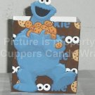 Sesame Street Inspired Cookie Monster Brown ~ Open Top 3D Treat or Gift Box ~ EACH