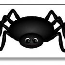 Insect Black Spider Brad Paper Puppet