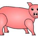 Pink Pig Brad Paper Puppet