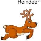 Reindeer Brad Paper Puppet