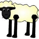 Black Sheep Brad Paper Puppet