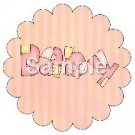 Variety of all ~ Bundle of Joy Pink Baby Girl Baby Shower ~ Cupcake Toppers ~ Set of 1 Dozen