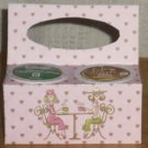 Pink Coffee With a Friend ~ K-Cup Gift Holder