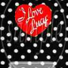 I Love Lucy Inspired Vertical ~ MINI Candy Bar Wrappers 1 DOZEN