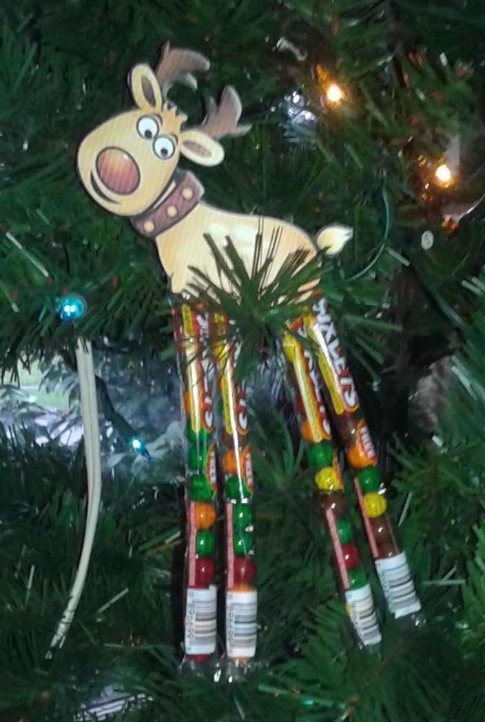 Christmas Sixlets Legs Reindeer 1 Dozen