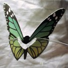 Green Butterfly Place Holder and/or Drink Marker Blank Wing for Adding Name