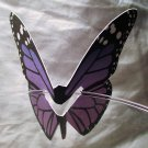 Purple Butterfly Place Holder and/or Drink Marker Blank Wing for Adding Name