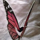 Pink Butterfly Place Holder and/or Drink Marker Blank Wing for Adding Name
