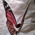 Pink Butterfly Place Holder and/or Drink Marker