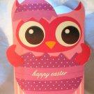 Easter Owl Tote Treat Bag