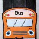 Orange School Bus Inspired Gift or Treat Bag