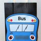 Blue School Bus Inspired Gift or Treat Bag