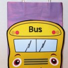 Yellow School Bus Inspired Gift or Treat Bag