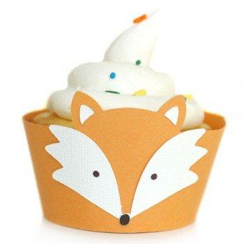 Woodland Animals ~ Fox ~ Cupcake Wrappers ~ Set of 1 Dozen