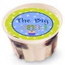 "1st Birthday 2"" Individual Ice Cream Cup Lid Cover ~ Sticker Sheet of 20"