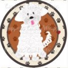 Dog Paws Maltese ~ Cupcake Topper ~ Set of 1 Dozen