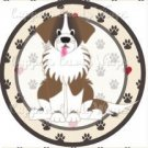 Dog Paws St. Bernard ~ Cupcake Topper ~ Set of 1 Dozen