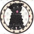 Dog Paws Tea Cup Poodle ~ Cupcake Topper ~ Set of 1 Dozen