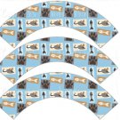 Cats Fish and Mouse All Over ~ Cupcake Wrappers ~ Set of 1 Dozen