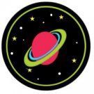 Planet Saturn Thanks For Making My Birthday Out of This World ~ Cupcake Topper ~ Set of 1 Dozen