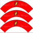Flash Gordon Super Heroes ~ Cupcake Wrappers & Toppers Set ~ Set of 1 Dozen