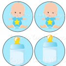 Tic Tac Toe Game ~ Baby Shower New Baby Baby Boy EXTRA PIECES ONLY