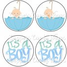 Tic Tac Toe Game ~ Baby Shower New Baby Baby It's A Boy EXTRA PIECES ONLY