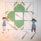 Tic Tac Toe Game ~ Sports Baseball Game