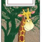 Candy Bar Gift Tag Giraffe