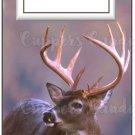 Candy Bar Gift Tag Elk Deer