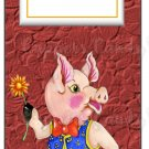 Candy Bar Gift Tag Pig