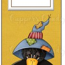 Candy Bar Gift Tag Fall Crow