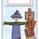Candy Bar Gift Tag Fall Scarecrow