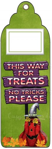 Candy Bar Gift Tag Halloween This Way For Treats