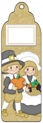 Candy Bar Gift Tag Thanksgiving Pilgrims
