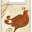 Candy Bar Gift Tag Fall Pheasant