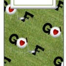 Candy Bar Gift Tag Sports Golf