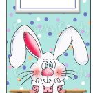 Candy Bar Gift Tag Happy Easter Polka Dot