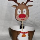 Rudolf Red Nosed Reindeer Cupcake Wrapper & Topper Set