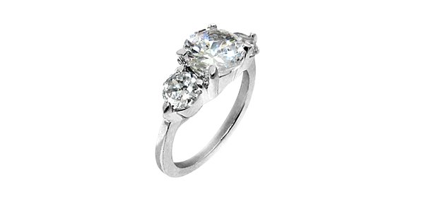 """Fashion Jewelry """"Silver Light"""" Infinite Attraction Ring 007"""